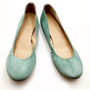 {J.Crew} Leather Ballet Flats